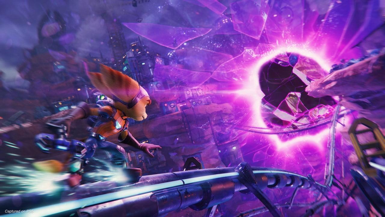 Ratchet & Clank Rift Apart PS5 exclusive