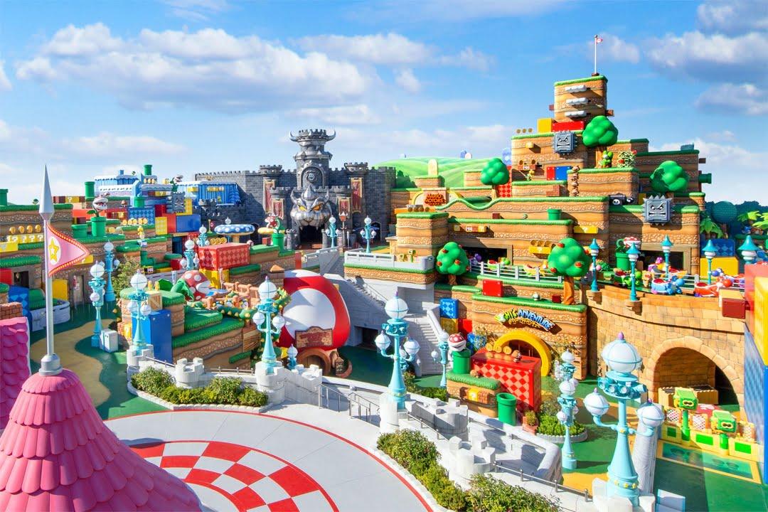 Universal Studios Japan to open Super Nintendo World area Feb 4