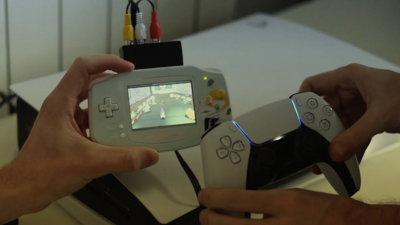 PlayStation 5 to Game Boy Advance