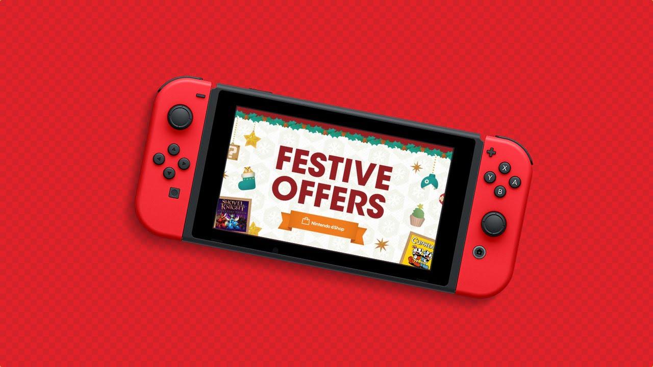 Nintendo Switch Festive Offers Sale