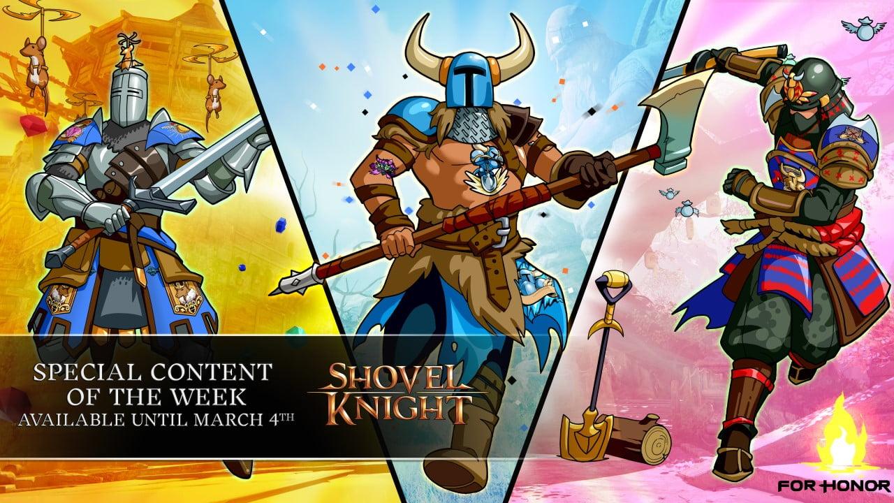 Shovel Knight For Honor