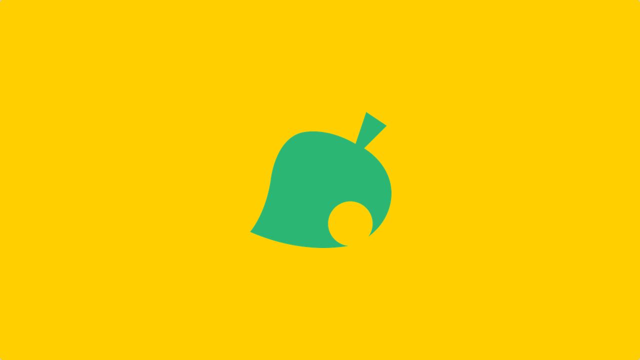 Animal Crossing: New Horizons - leaf logo