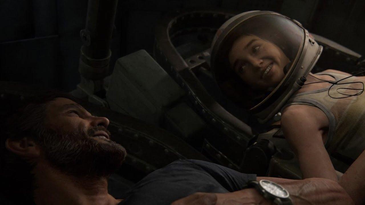 The Last of Us Part II Joel Ellie happy