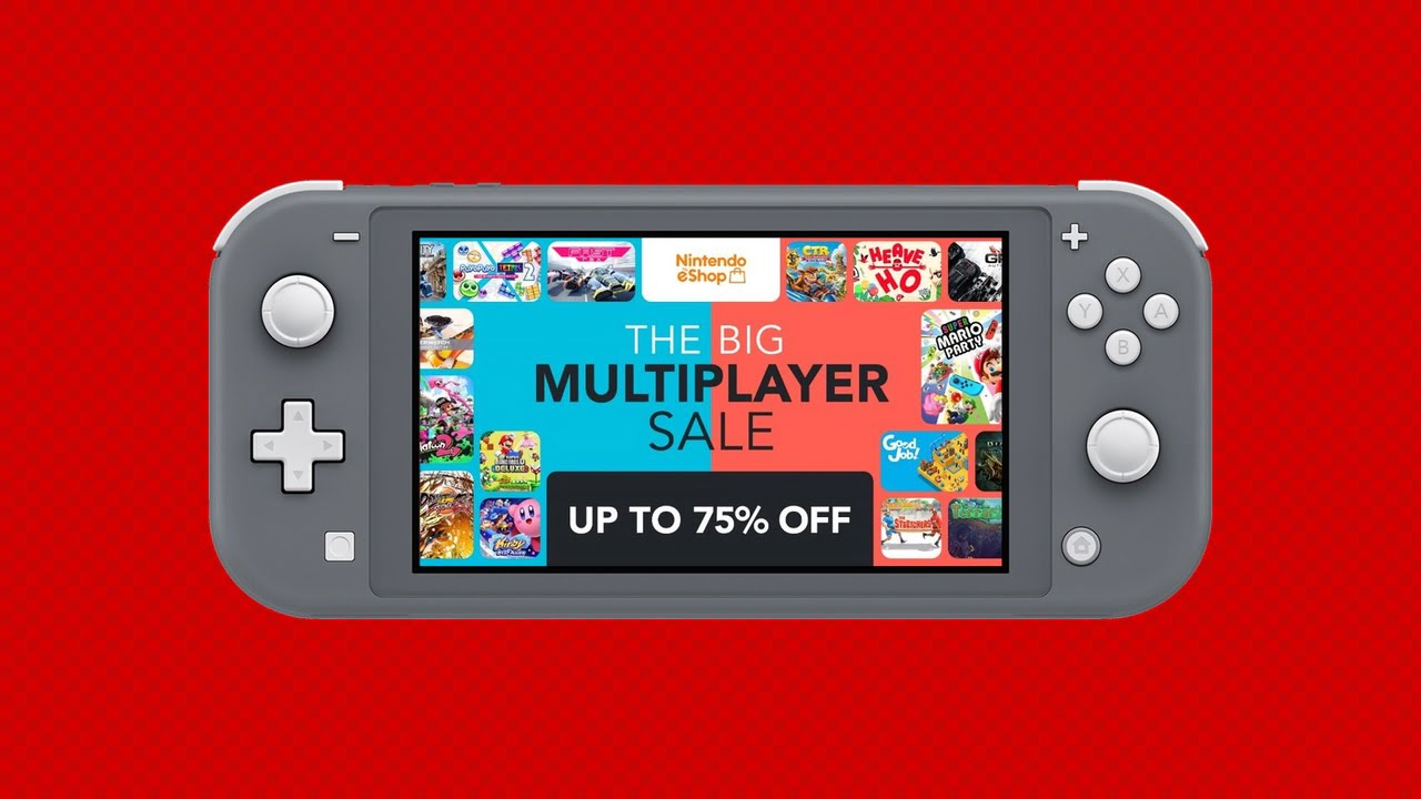 The Big Nintendo Switch eShop Multiplayer Sale starts today