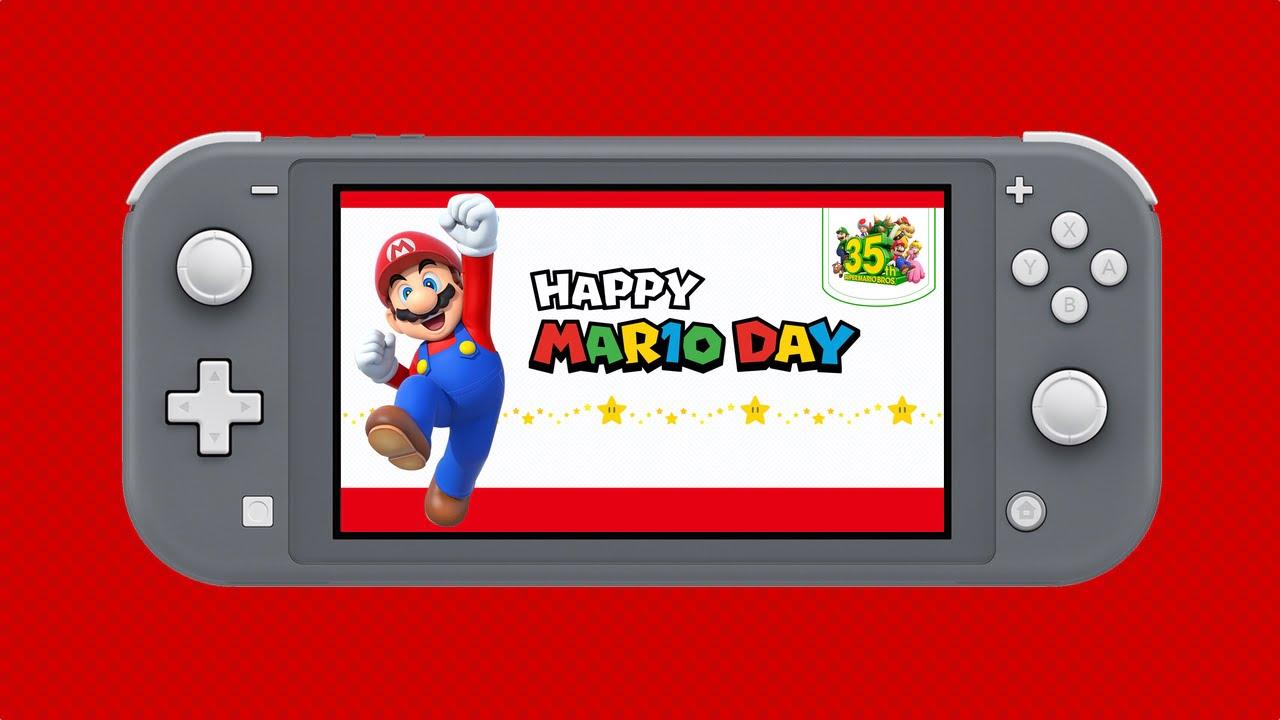 Nintendo Switch Mario Day Sale
