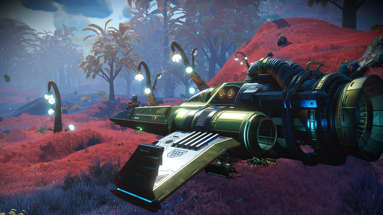 Explore the universe with friends in the latest No Man's Sky update