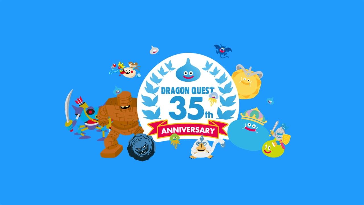 Dragon Quest 35th anniversary art