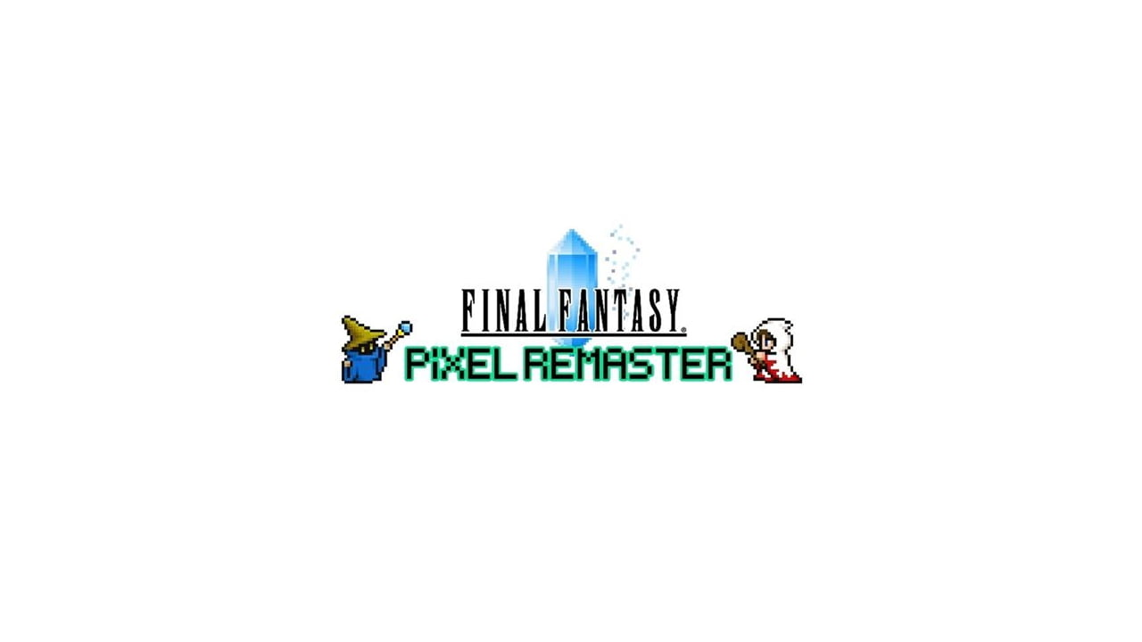 Final Fantasy pixel remaster logo