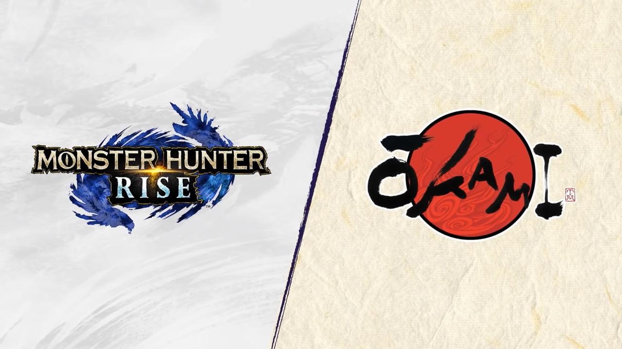 Monster Hunter Rise Okami Collab