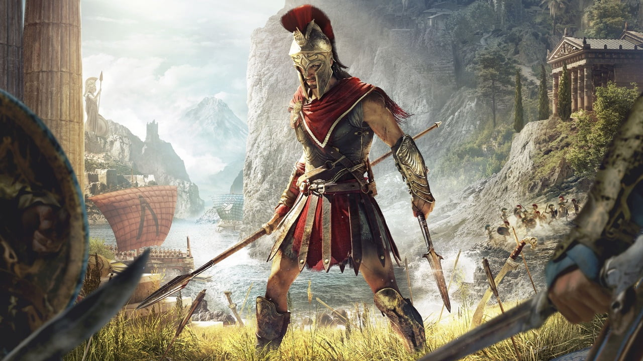 Assassin's Creed Odyssey key art