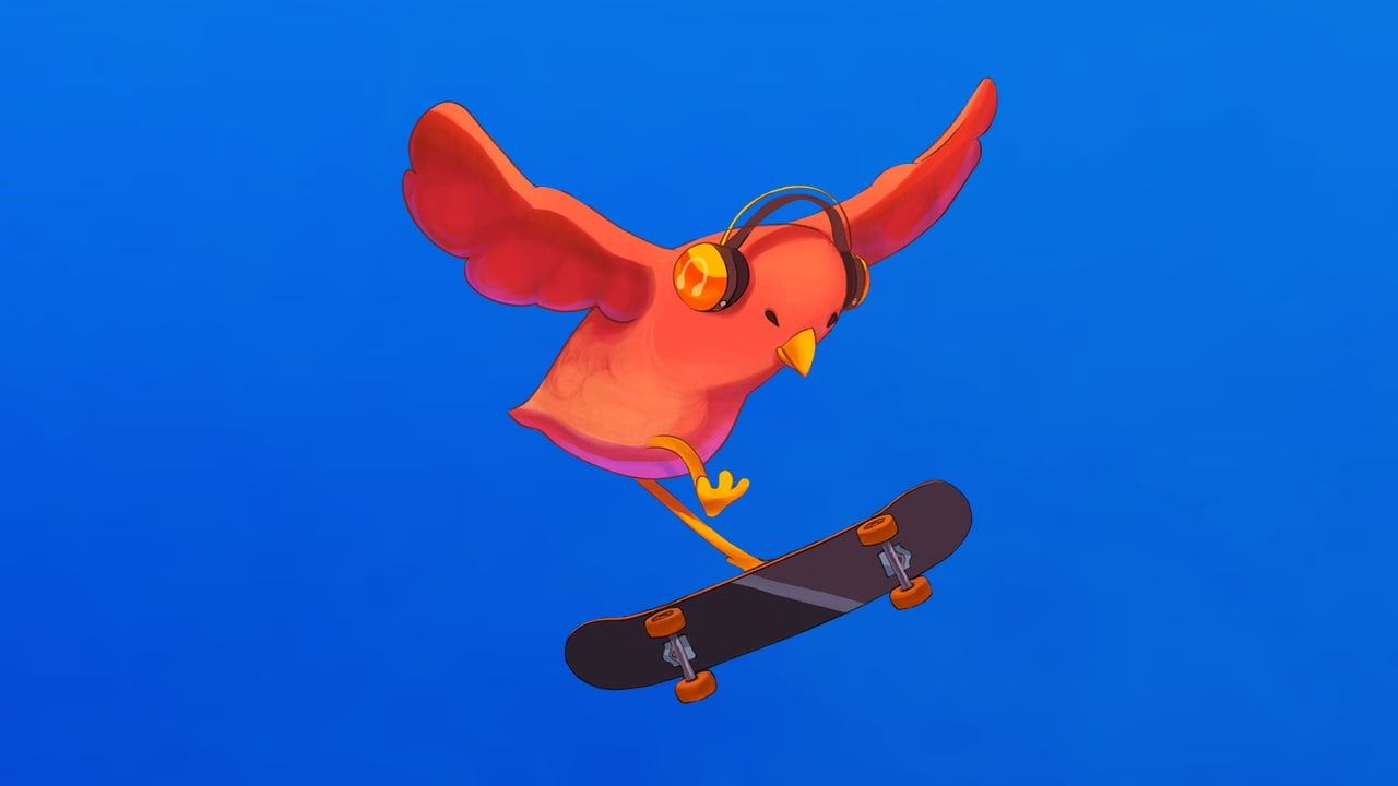 SkateBIRD keyart - Xbox Game Pass