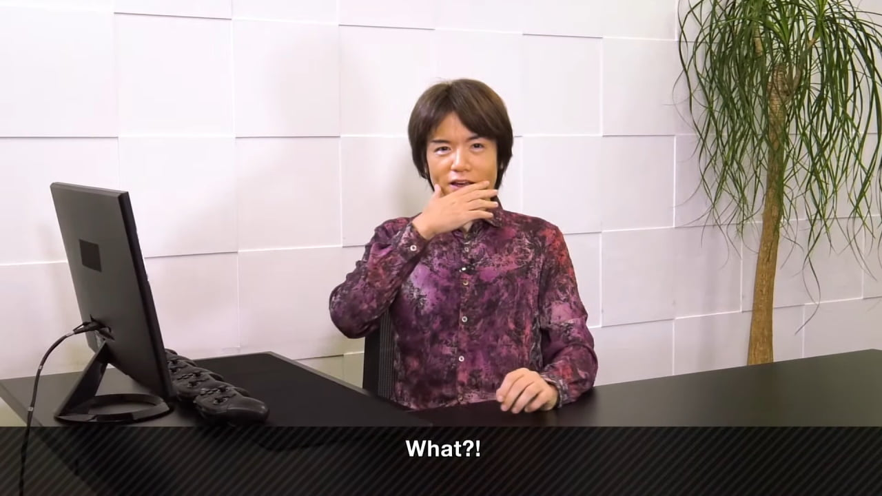Masahiro Sakurai Super Smash Bros Ultimate what
